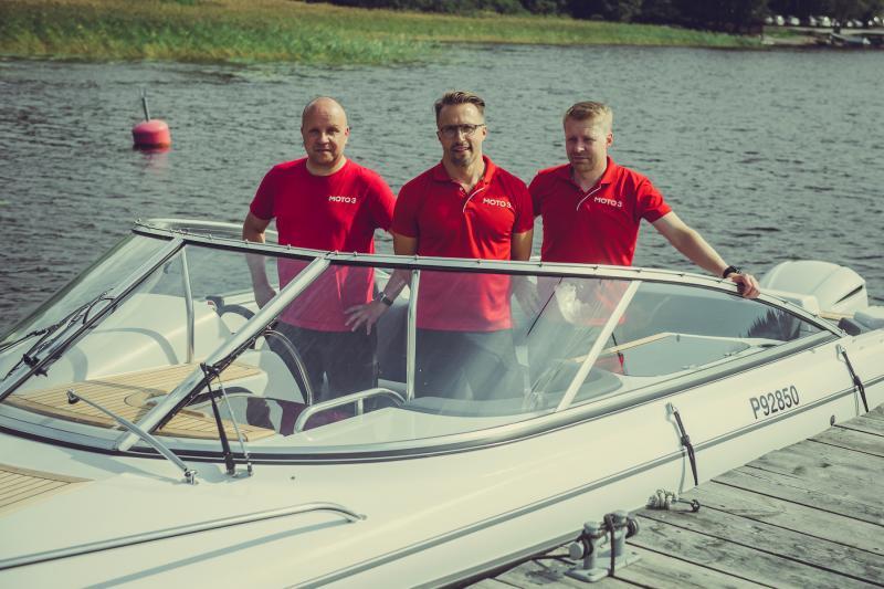 Yamarin-veneet Moto3:n edustukseen Kuopiossa